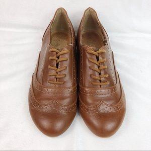 Aldo Oxford Leather Flats